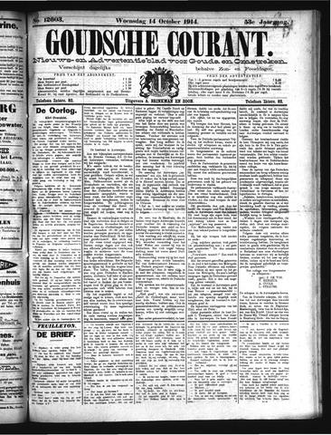 Goudsche Courant 1914-10-14
