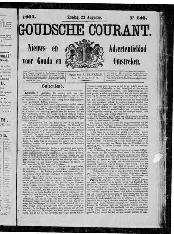 Goudsche Courant 1863-08-23