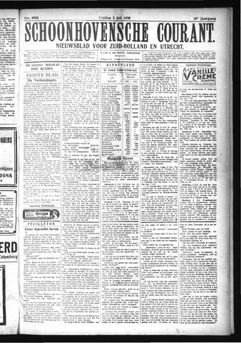Schoonhovensche Courant 1925-07-03