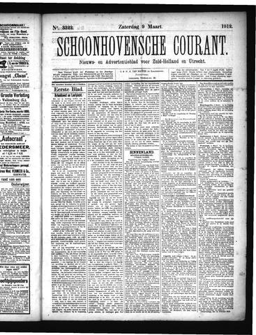 Schoonhovensche Courant 1912-03-09