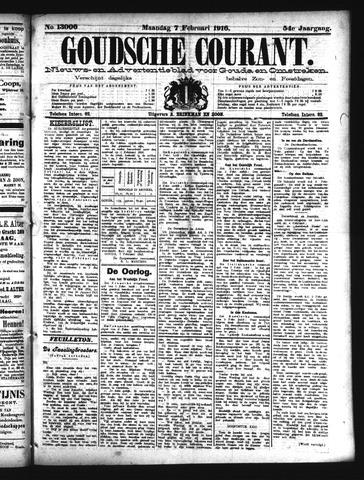 Goudsche Courant 1916-02-07