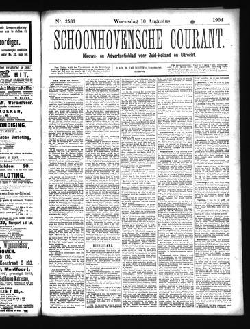 Schoonhovensche Courant 1904-08-10