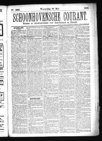 Schoonhovensche Courant 1909-05-26