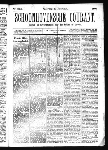 Schoonhovensche Courant 1906-02-17