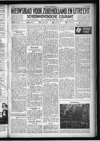 Schoonhovensche Courant 1931-12-07
