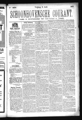 Schoonhovensche Courant 1917-07-06