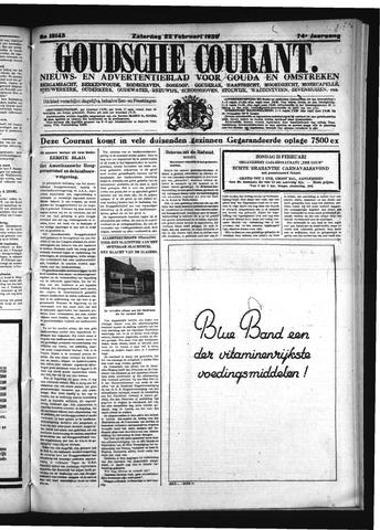 Goudsche Courant 1936-02-22