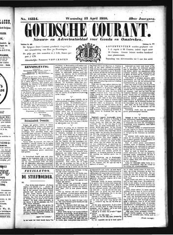 Goudsche Courant 1910-04-13