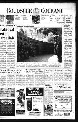Goudsche Courant 2001-12-13