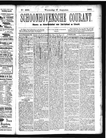 Schoonhovensche Courant 1902-08-27