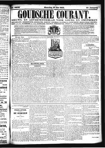 Goudsche Courant 1922-05-22