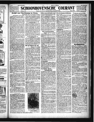 Schoonhovensche Courant 1944-06-16