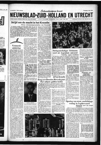 Schoonhovensche Courant 1960-06-08