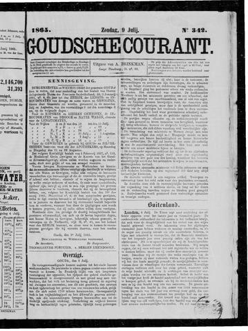 Goudsche Courant 1865-07-09