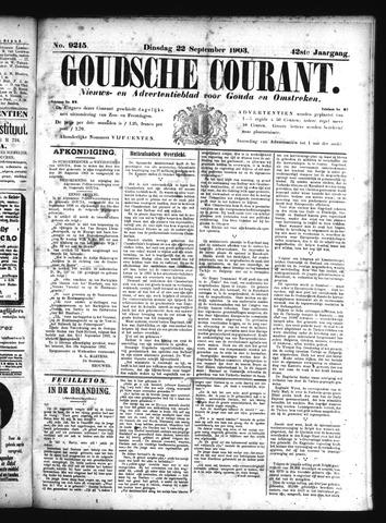 Goudsche Courant 1903-09-22