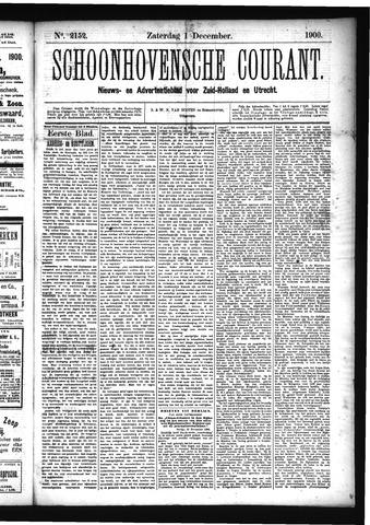 Schoonhovensche Courant 1900-12-01