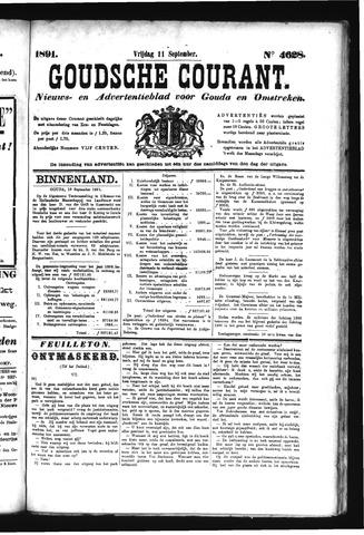 Goudsche Courant 1891-09-11
