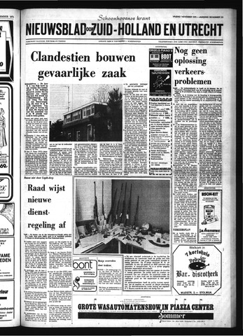 Schoonhovensche Courant 1975-11-07