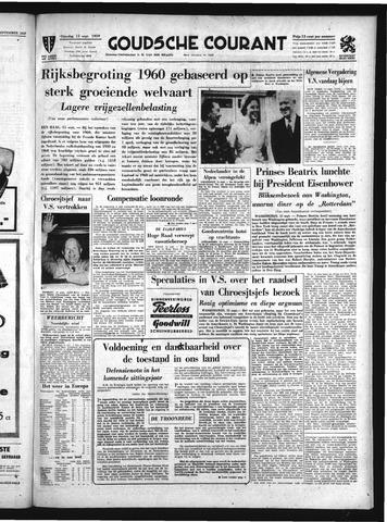 Goudsche Courant 1959-09-15