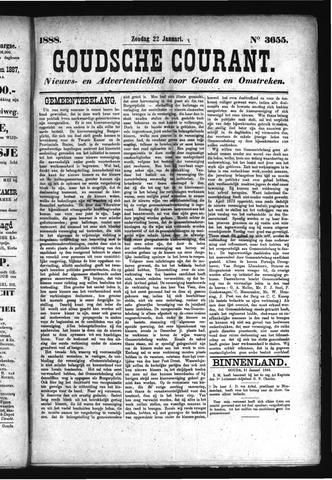 Goudsche Courant 1888-01-22