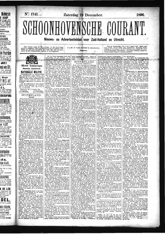 Schoonhovensche Courant 1896-12-19