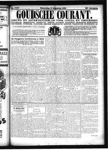 Goudsche Courant 1929-08-14
