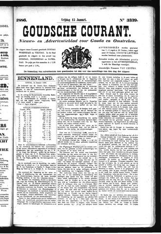 Goudsche Courant 1886-01-15