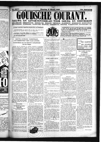 Goudsche Courant 1936-03-31