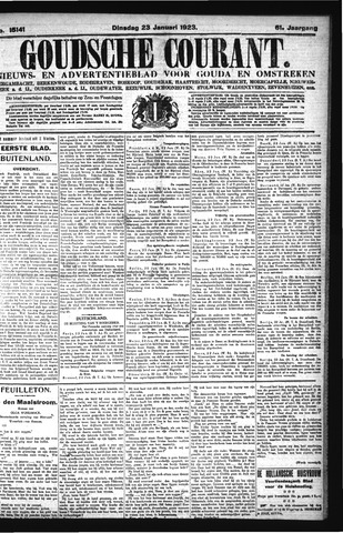 Goudsche Courant 1923-01-23