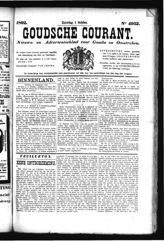 Goudsche Courant 1892-10-01