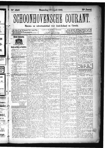 Schoonhovensche Courant 1921-04-18