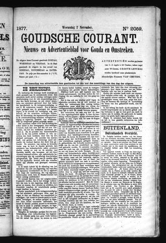 Goudsche Courant 1877-11-07