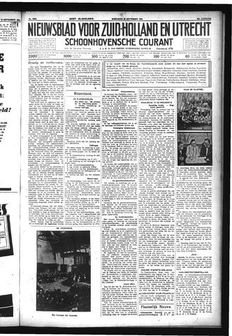 Schoonhovensche Courant 1933-09-20