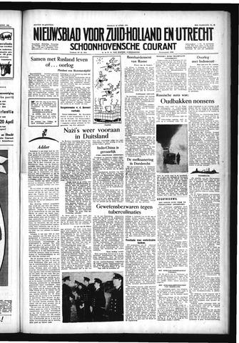 Schoonhovensche Courant 1954-04-16