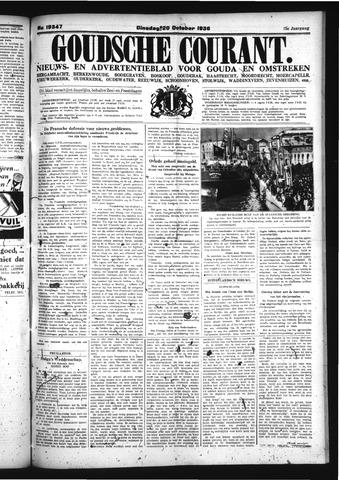 Goudsche Courant 1936-10-20