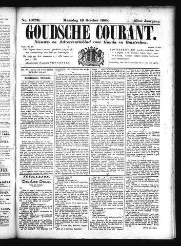 Goudsche Courant 1908-10-19