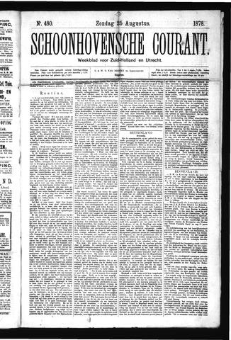 Schoonhovensche Courant 1878-08-25