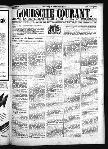 Goudsche Courant 1933-02-07