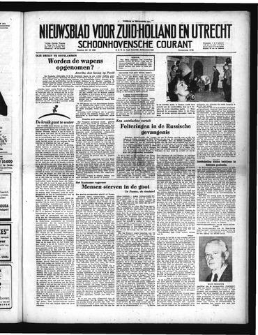Schoonhovensche Courant 1951-09-28
