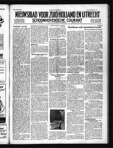 Schoonhovensche Courant 1947-10-27