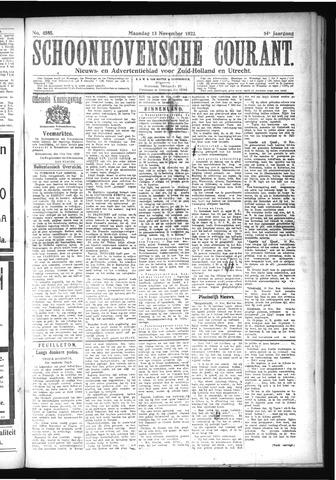 Schoonhovensche Courant 1922-11-13