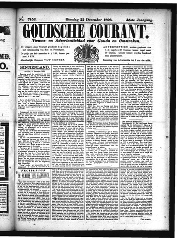 Goudsche Courant 1896-12-22