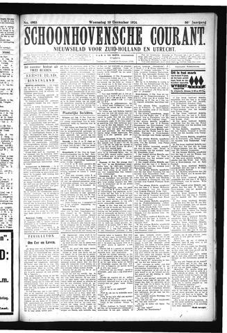 Schoonhovensche Courant 1924-12-10