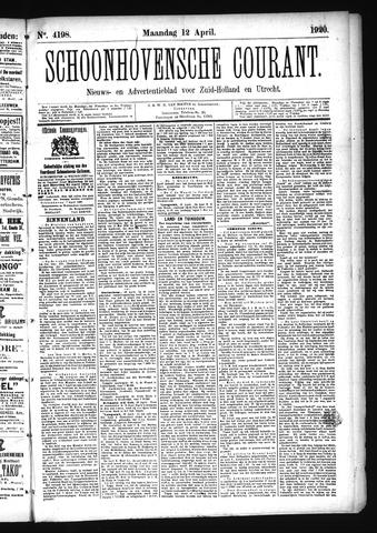 Schoonhovensche Courant 1920-04-12