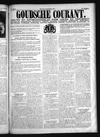 Goudsche Courant 1939-09-11