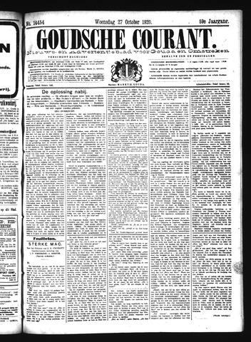 Goudsche Courant 1920-10-27