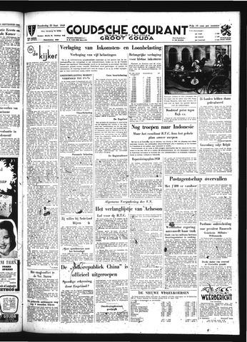 Goudsche Courant 1949-09-22