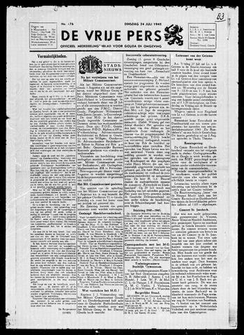 De Vrije Pers 1945-07-24