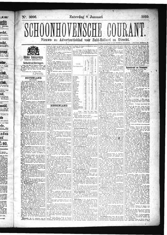 Schoonhovensche Courant 1910-01-08