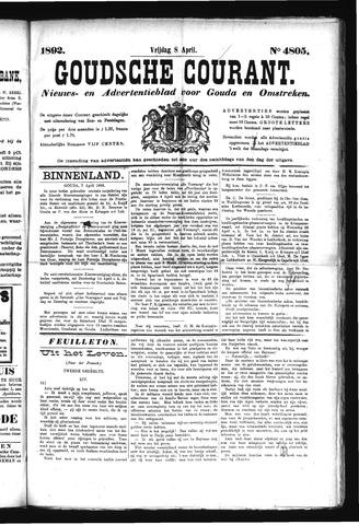 Goudsche Courant 1892-04-08